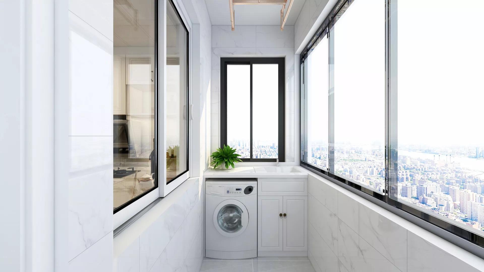 现代时尚风格厨房吧台设计效果图