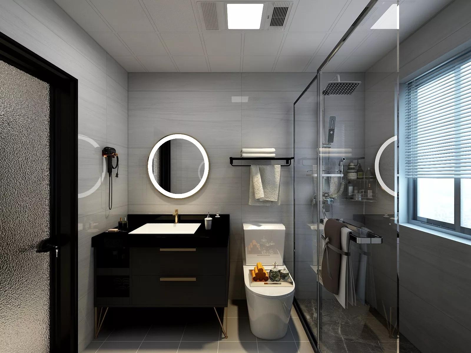 简约欧式风格公寓装修效果图