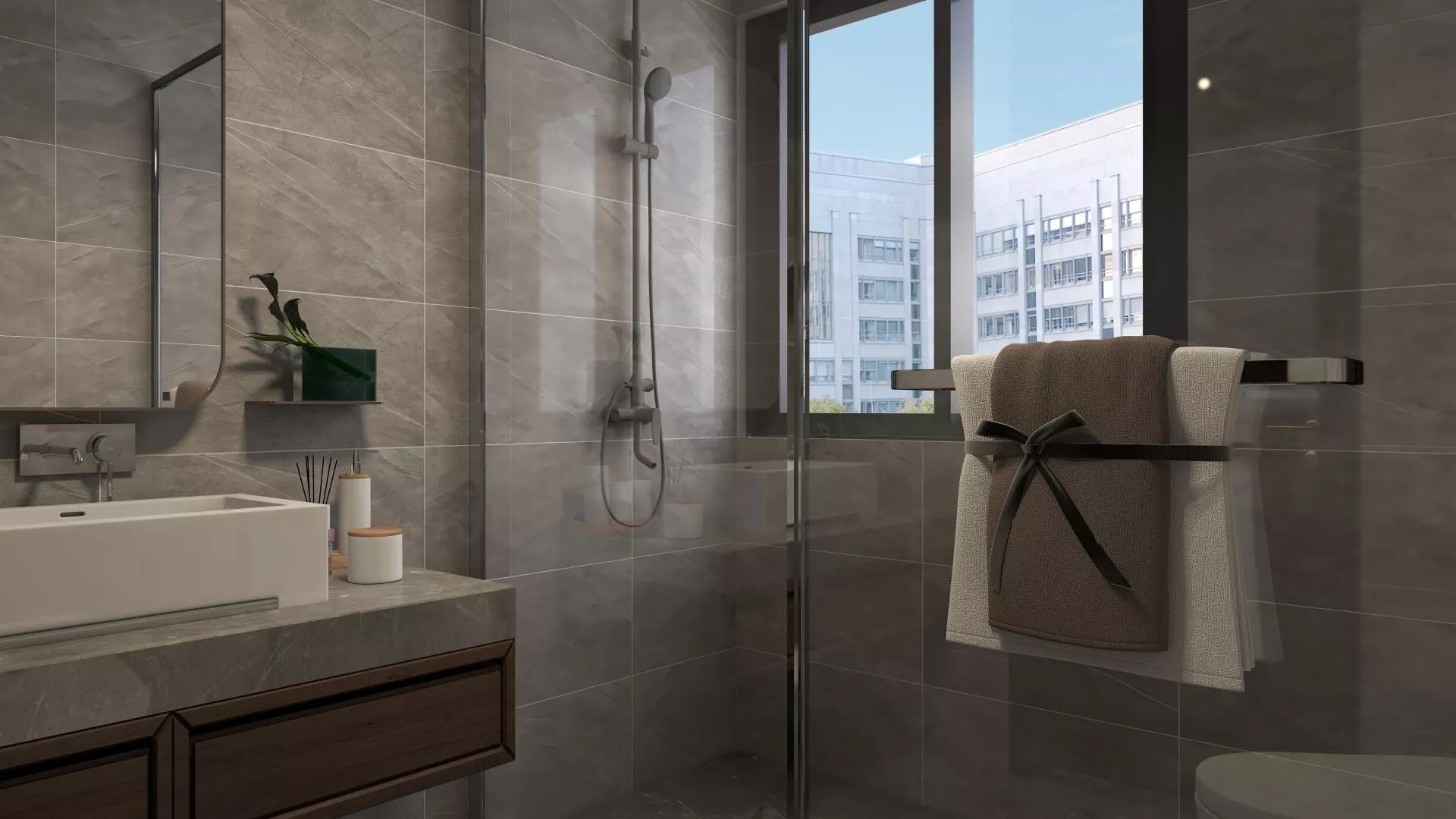 舒适简洁风格家居公寓客厅装修效果图